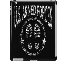 US Armed Forces Boots On The Ground  iPad Case/Skin