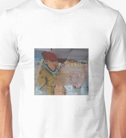 Icelandic Graffiti Reflection Unisex T-Shirt