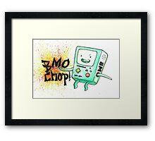BMO Chop! Framed Print