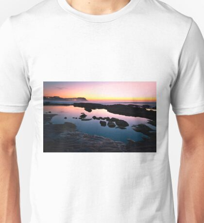 Merewether Ladies Ocean Pool Reflections Unisex T-Shirt