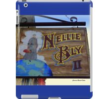 NELLIE BLY, pioneer as a woman Journalist iPad Case/Skin