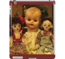 Three Old Dolls iPad Case/Skin
