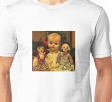 Three Old Dolls Unisex T-Shirt