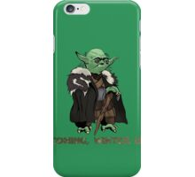 Yoda Stark iPhone Case/Skin