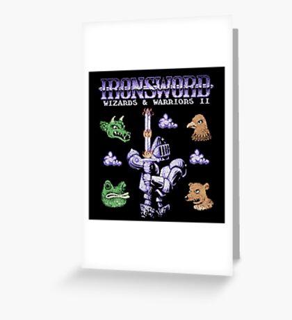 SwordIron Greeting Card