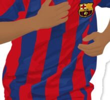 Ronaldinho Minimalist Art Sticker