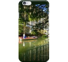 A Ride on The Riverwalk iPhone Case/Skin