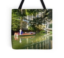 A Ride on The Riverwalk Tote Bag