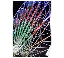 Big Wheel at the Fairground Poster