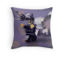 Run, the mixels are coming! Throw Pillow