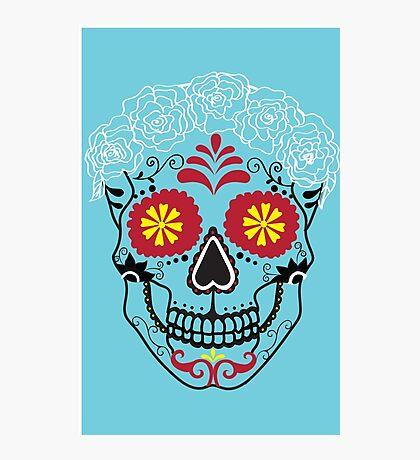 Sugar Skull  Photographic Print