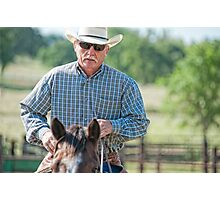 Riding Proud Photographic Print