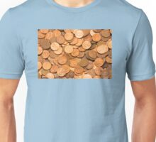 Pile of American pennies Unisex T-Shirt