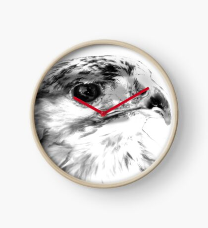 Red Tailed Hawk  Clock