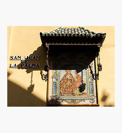 Streets of Seville - Colors  Photographic Print