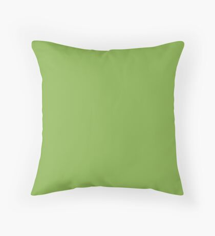 Color of the Year Pantone 2017 Designer Colors Greenery Throw Pillow