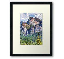 Bridalveil Fall, Yosemite National Park, CA Framed Print