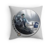 The 11th Day of the Doctor Jedi Throw Pillow