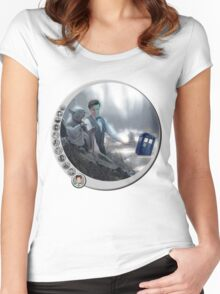 The 11th Day of the Doctor Jedi Women's Fitted Scoop T-Shirt