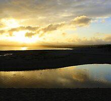 Sunset at Marazion by Debra Kurs