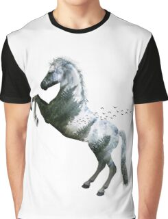 Horse nature Graphic T-Shirt