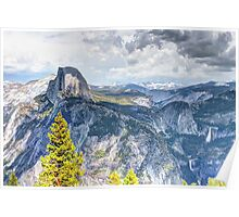 Half Dome from Glacier Point, Yosemite National Park, CA Poster
