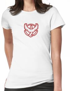 Team Valor From Pokemon GO Womens Fitted T-Shirt