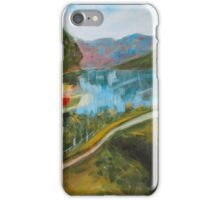 Flåm From Above  iPhone Case/Skin