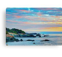 Sea Ranch Evening Coast, Sea Ranch, CA Canvas Print