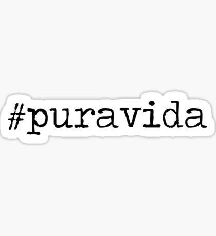 #puravida Sticker
