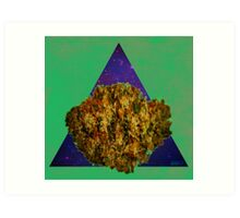 Kush Triangle Art Print