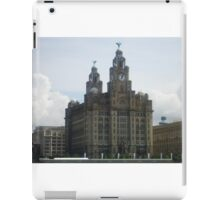Liver Buildings iPad Case/Skin