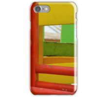 News 05 - Colored Chairs iPhone Case/Skin