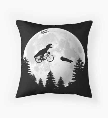 A Spielberg Tribute Throw Pillow