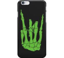 Skeleton hand   Green iPhone Case/Skin
