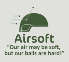 Airsoft - Soft air but hard balls by Bmused55