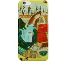 Bored beauty  iPhone Case/Skin