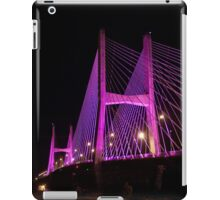 Bill Emerson Memorial Bridge (Purple) iPad Case/Skin
