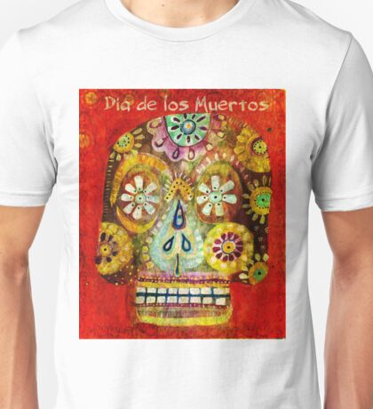 day of the dead - Flor Ojos Unisex T-Shirt