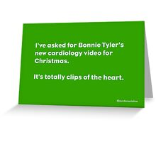 Bonnie. Greeting Card