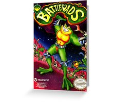 Battletoads Greeting Card
