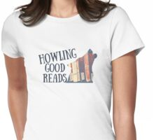 Howling Good Reads 2 Womens Fitted T-Shirt