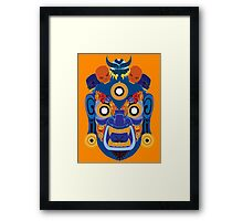 Blue Demon fir Shirt  Framed Print