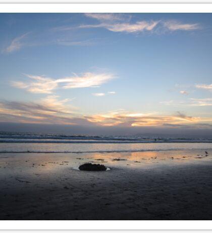 Silver Strand Sunset Sticker