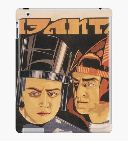 Aelita - Soviet Science Fiction iPad Case/Skin