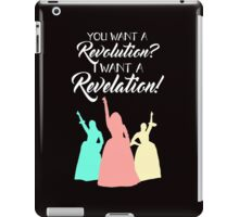 Broadway Quote Shirt iPad Case/Skin