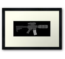 Assault Camera Framed Print