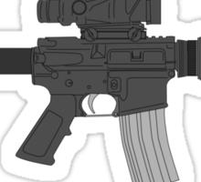 Assault Camera Sticker