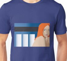 Blue Pond Pin Up Unisex T-Shirt