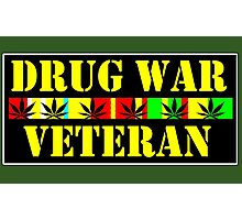 drug war veteran Photographic Print
